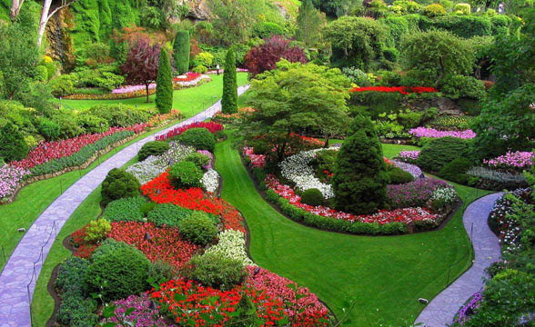 Garden Design: Garden Design With Simple Landscaping Ideas